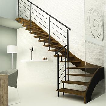 escaliers traditionnels - ARESI Escaliers bois et contemporains dans ...